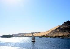 Nile Sailboat, Egypt