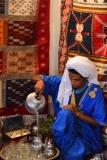 Marrakech rug-merchant