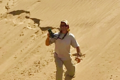 SHOOTING THE DUNES, NAMIBIA