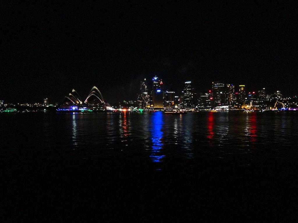 Midnight in Sydney